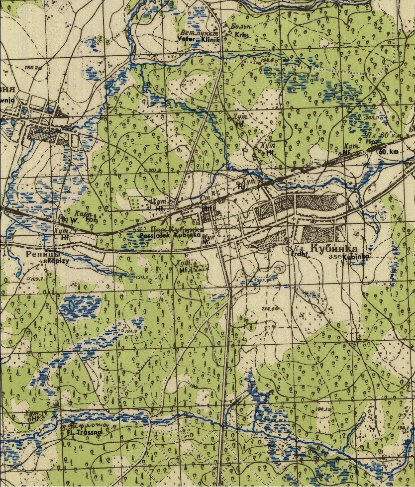 HPS Sims Wehrmacht WWII Map Series: Moscow (1939-41)